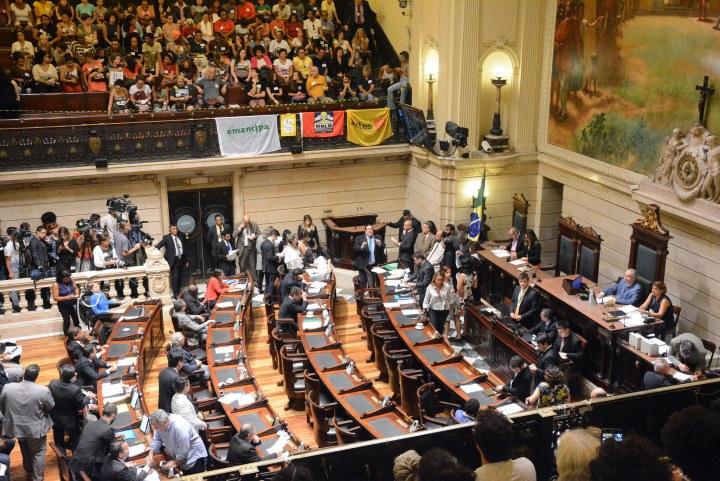 Câmara do Rio impede a própria Câmara de informar visitantes daCasa